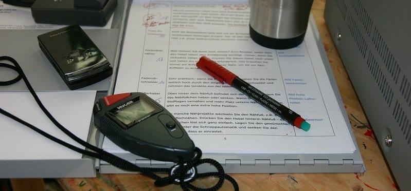 בדק בית - רישומים ומדידות