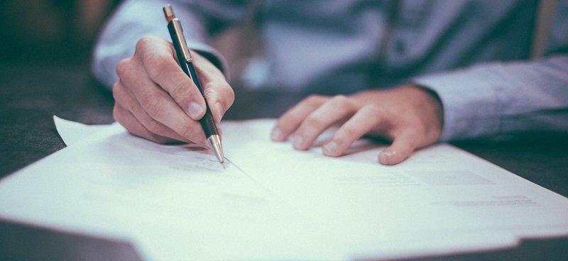 רישום משכון - מסמכים