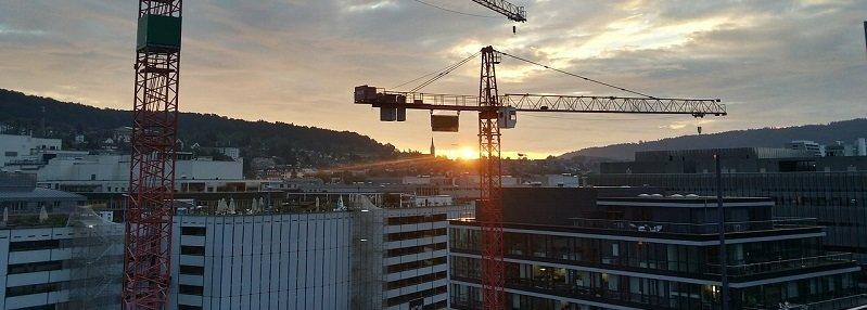 מדד תשומות הבניה - אתר בניה