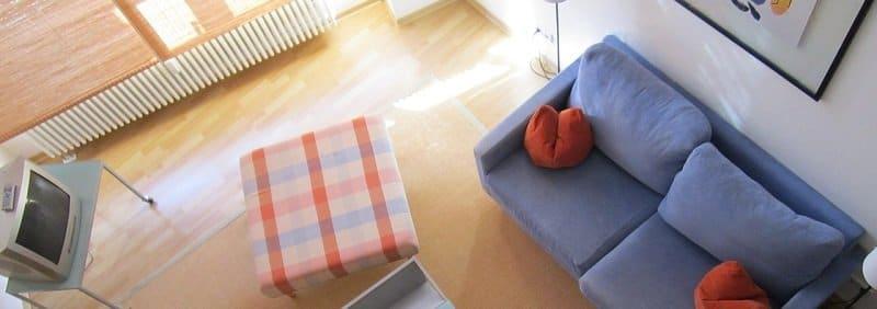 קניית דירה ראשונה - סלון דירה