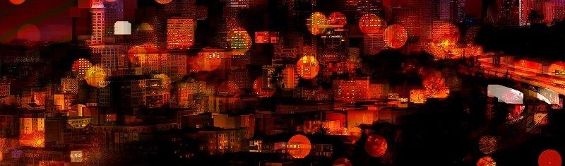 """קרנות השקעה בנדל""""ן - עיר בלילה"""