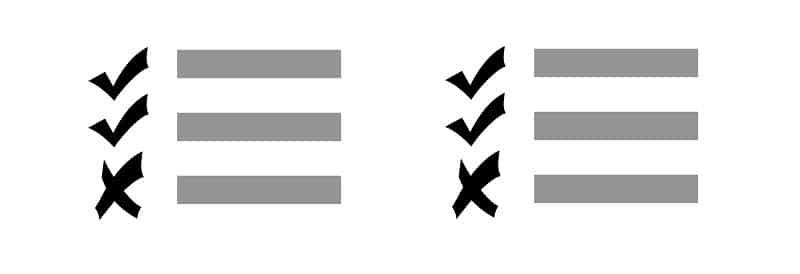 מבחני תיווך - מבחני תיווך לדוגמא