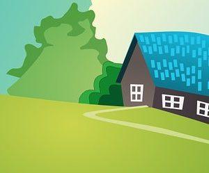 בניית בית - בית פרטי מצויר
