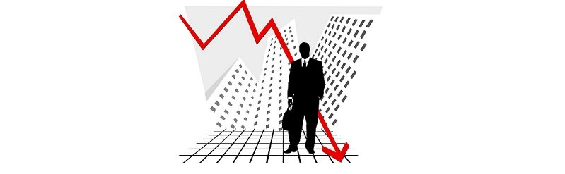 קריסת מחירי הדירות - גרף יורד